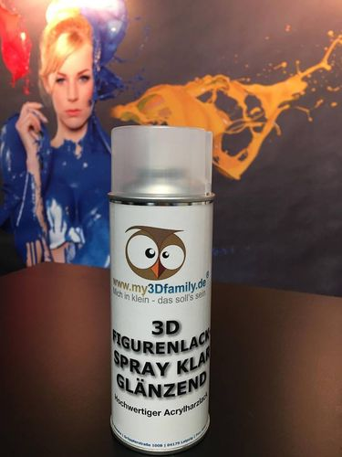 3D-Varnish Glossy  400 ml can