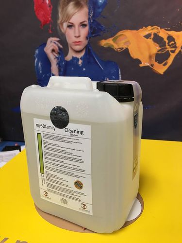 *Back Pack - ORIGINAL * Cleaning Solution 1x ca. 5 litre Projet / Z Printer  850 / 660 / 650 .. ec.