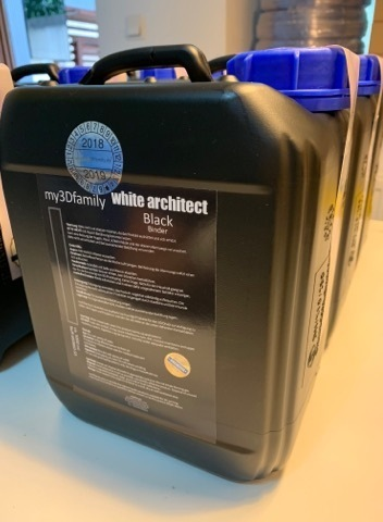 White Architect *BLACK* Binder / 5 Liter